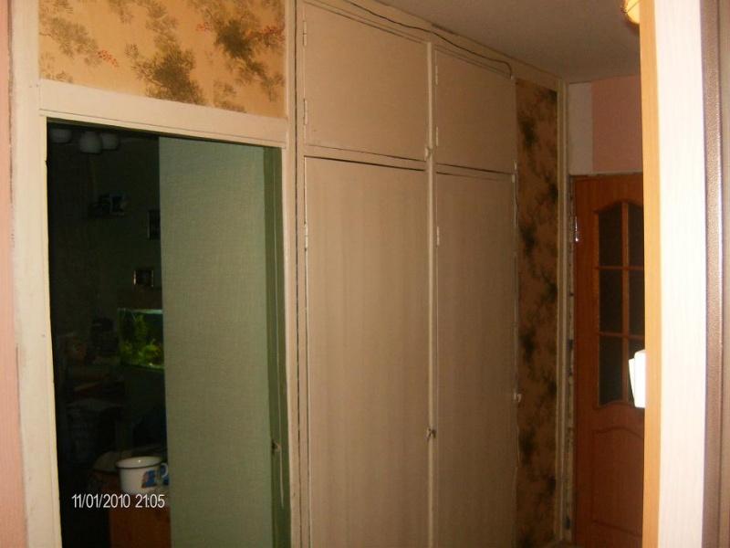 Шкаф купе вместо стены фото