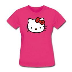 Футболка Hello Kitty.  Артикул: 106327.  Модель: Женская.