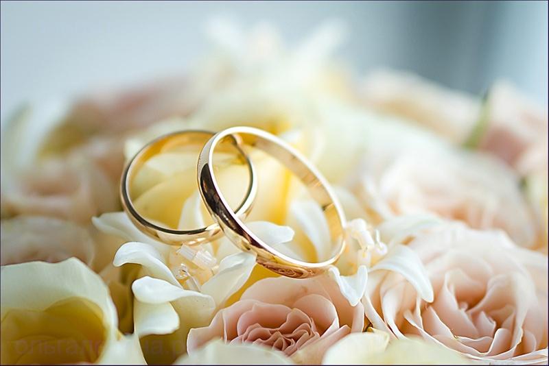 Поздравление под свадебное фото
