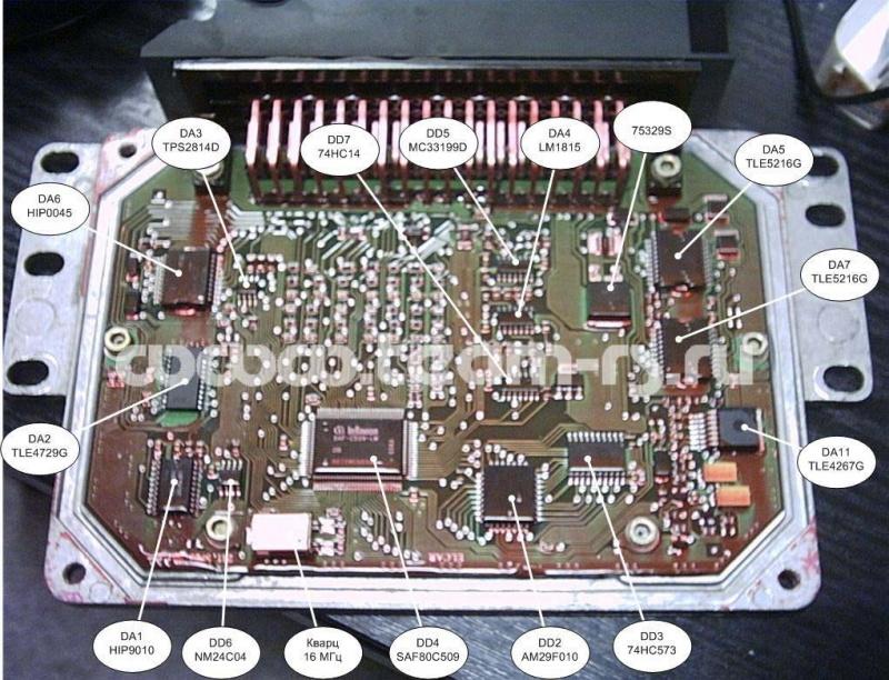 электрическая схема системы