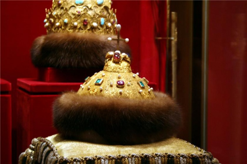 Story about Monomakh's Cap.  Its obvious Central Asian origin (from ethnological or cultural point of view) has led...