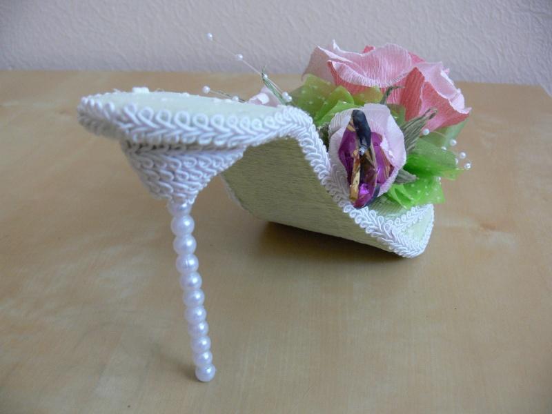 Как сделать туфельку своими руками