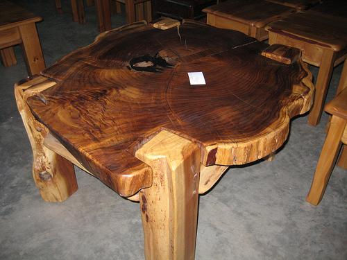 Чертеж стола из дерева своими руками