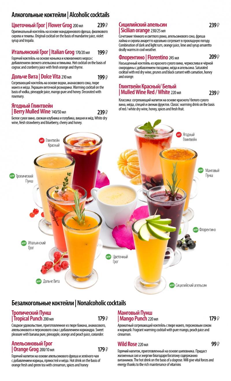 Рецепты напитки безалкогольные с