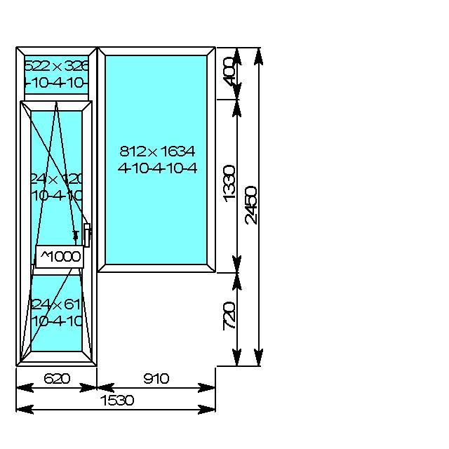 Окно пвх. балконный блок. высокая дверь. - обсуждение на фор.