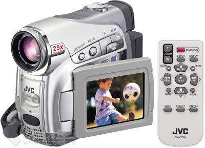 """DV, Кассета, матрица CCD 1/6 """", экран 2.5'.  Технические характеристики цифровой видеокамеры JVC..."""