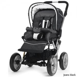 Прогулочная коляска Emmaljunga Cerox 2.0 20205 Jeans Black.