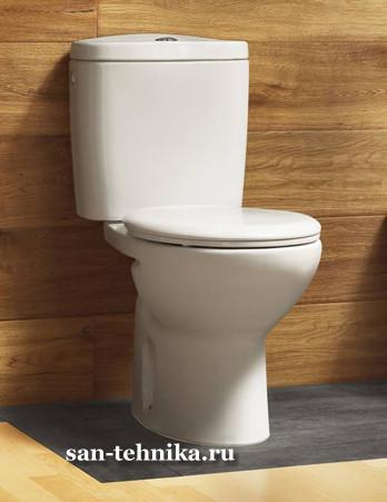 Производитель: Roca (Испания ) Размер: 66х37 Материал: керамика Цвет: белый Гарантия: 10 лет Краткое описание: Унитаз...