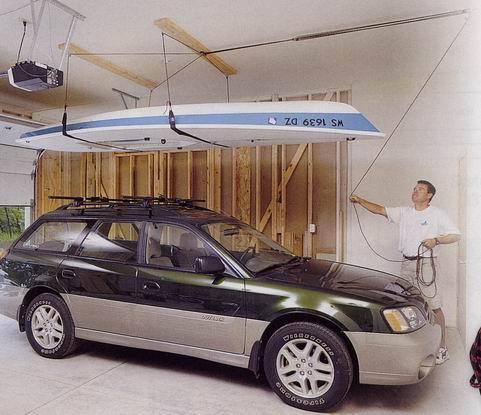 подъемник в гараж для лодки