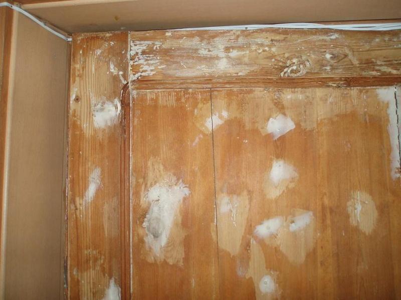Чем обновить старую дверь своими руками фото