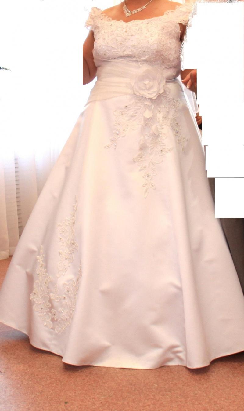 Свадебное платье 54 размера 9