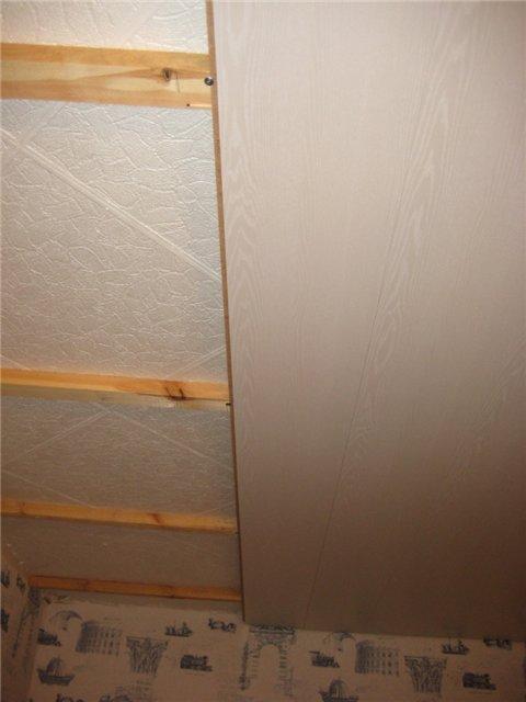 Re: Что можно сделать со старым страшным потолком?