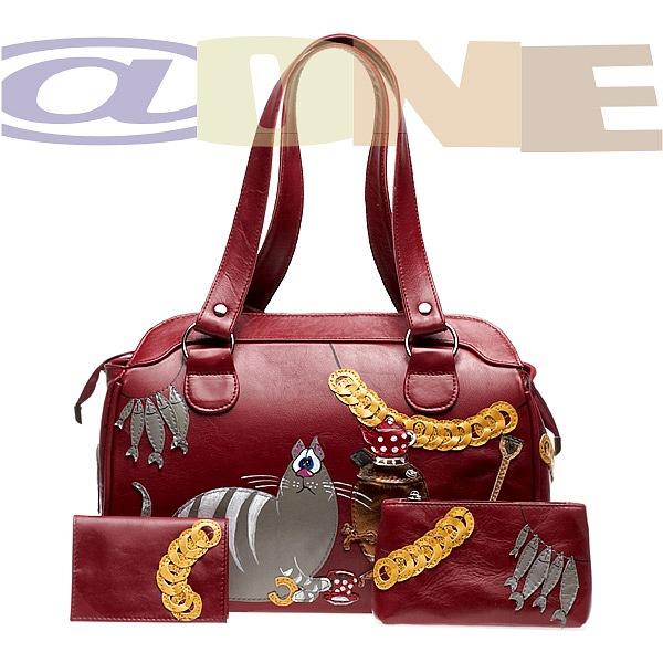 Дизайнерская сумка @ONE Кот с самоваром, @ONE.