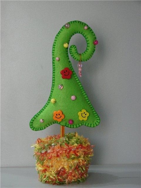 Новогодняя елка своими руками выкройки