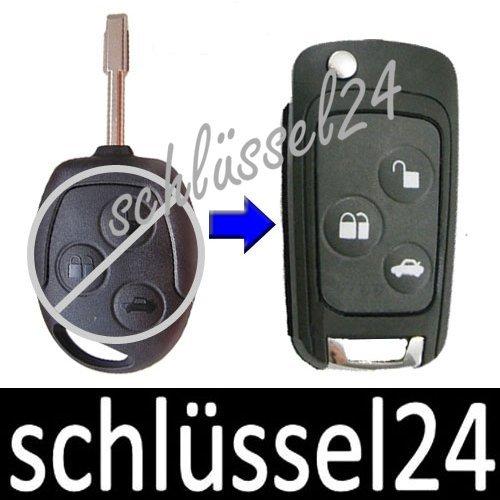 Ключ выкидушка на автомобили Ford. Для замены стандартного ключа на