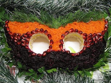 Красивое угощение Новогоднего стола!