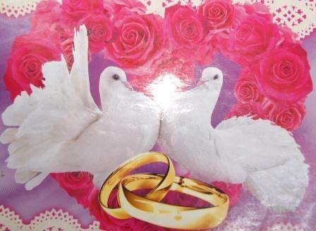 Голуби день свадьбы открытки красивые, приколом аву