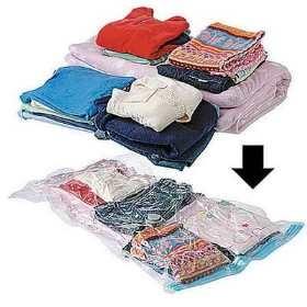 Фотографии Вакуумные пакеты для хранения одежды.