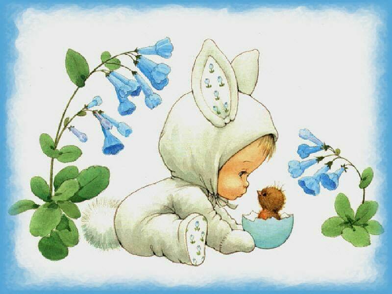 Картинки с днем рождения младенца