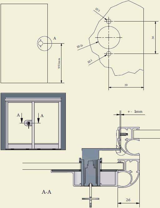 замок для дверей купе аристо инструкция