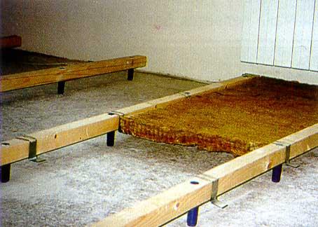 Как выровнять бетонный пол под линолеум своими