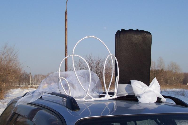 Корону на свадебную машину