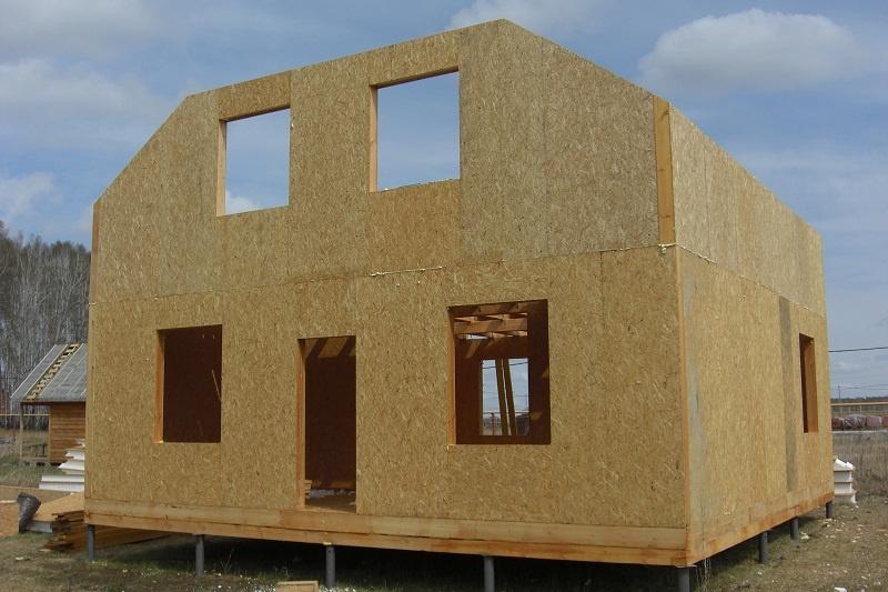 Дом из сип панелей с мансардой своими руками
