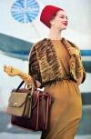 Ровременная мода 2009 года, которая взяла начало от моды 60-х годов.