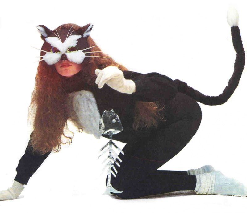 Как сделать кошачий костюм для себя