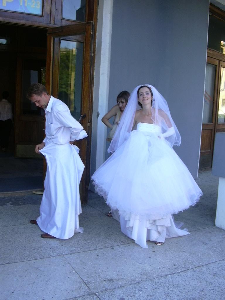 Казусы на свадьбах с невестами