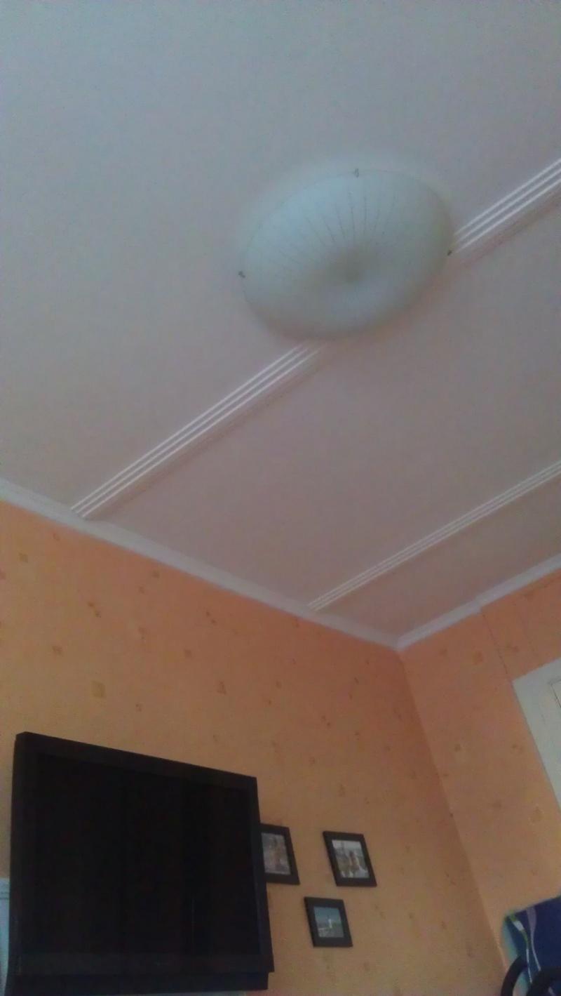 Comment faire un plafond blanc brillant beauvais travaux for Fixer une tringle au plafond