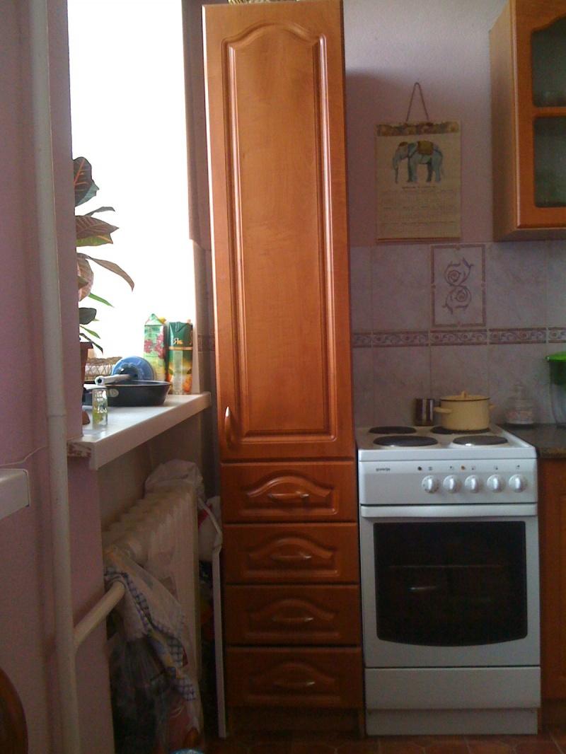 Шкаф пенал для кухни фото