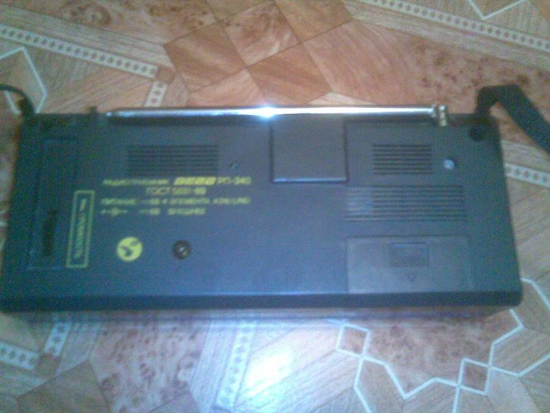 Пишите в личку или на 89537642352.  Продам радиоприемник Вега РП-240.  Батареек в комплекте нет (нужны 4 элемента...