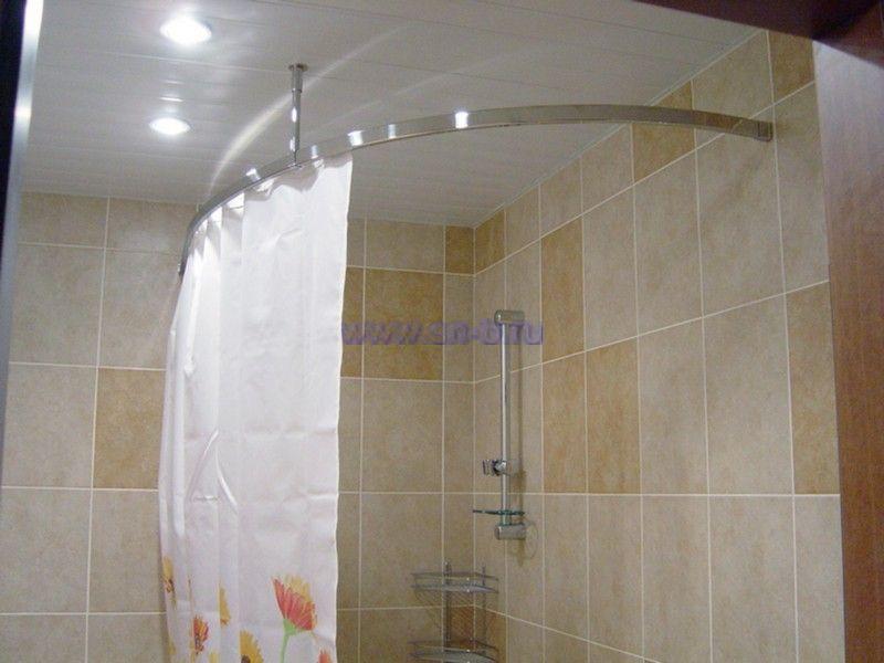 Шторка для угловой ванны