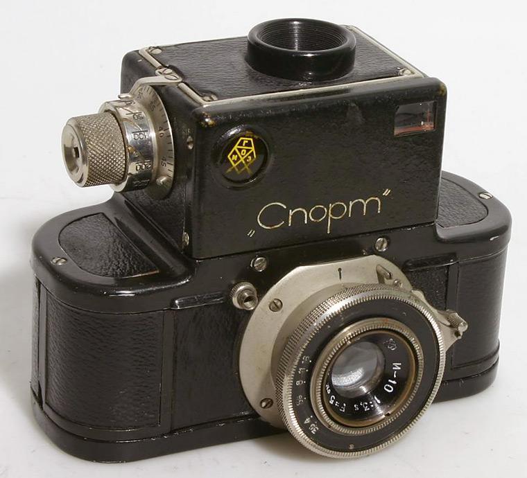 также советский зеркальный фотоаппарат спорт функция, которую выполняет