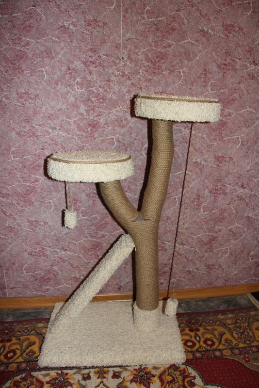 Когтеточки кошке своими руками джутовая веревка