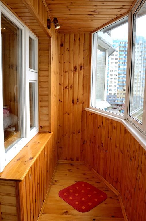 Какую вагонку выбрать для обшивки балкона? (сорт и порода) -.