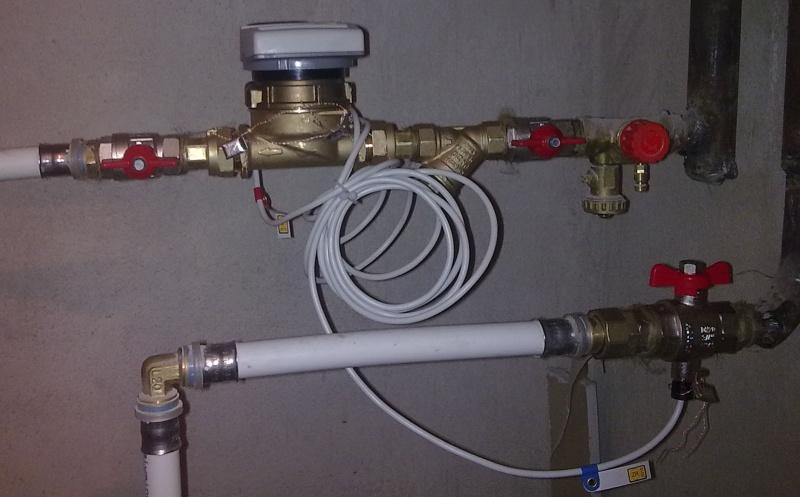 Как сделать счетчик на отопление в квартире