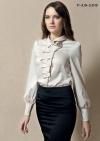 модные трикотажные блузы 2012 для полных.