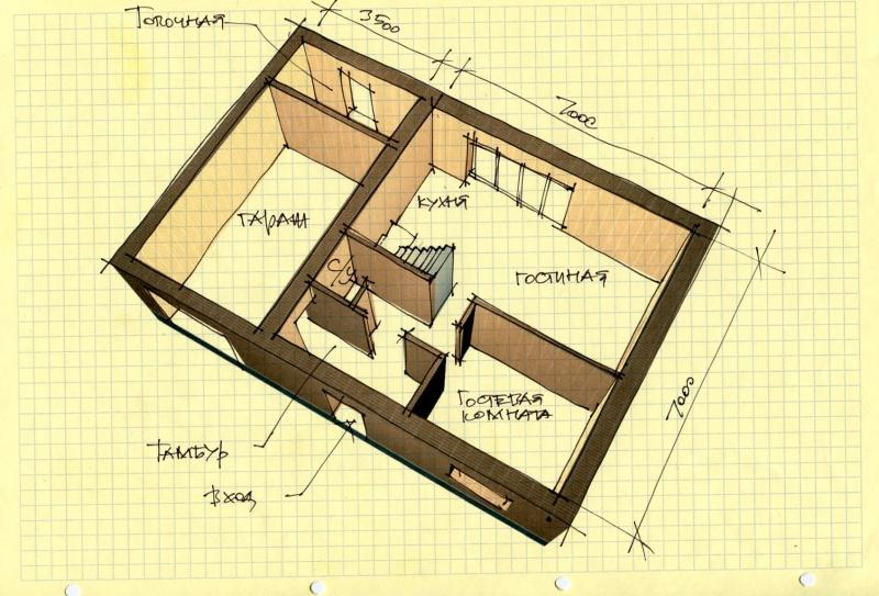 Толщина стен между квартирами в панельном доме