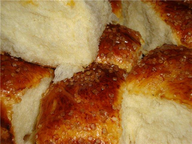 вкусные пышные булочки рецепт