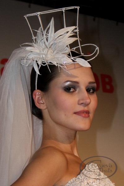 Как самостоятельно сделать шляпку вуалетку