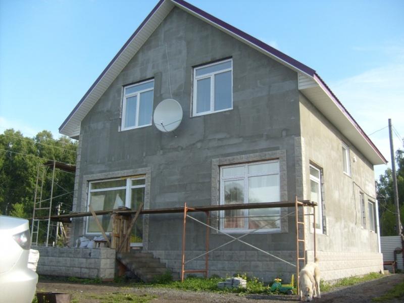 Строим дом из сибита