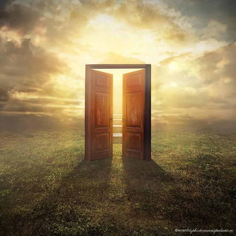 что двери рая картинки становится настоящим